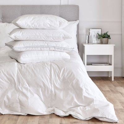 Duvets,  Pillows &  White Essentials