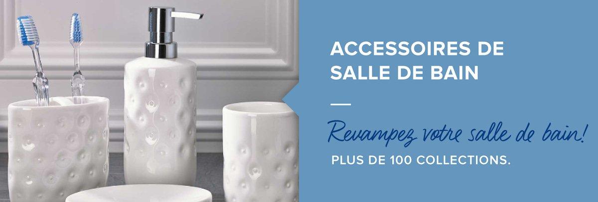 Produits in splash home accessoires de salle de bain bain de linen chest for Accessoires salle de bain zara home