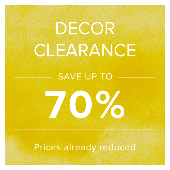 Shop Decor Clearance