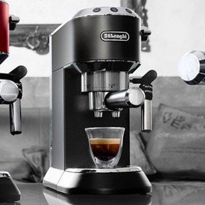 Delonghi Dedica DeLuxe Black Espresso and Cappuccino Machine