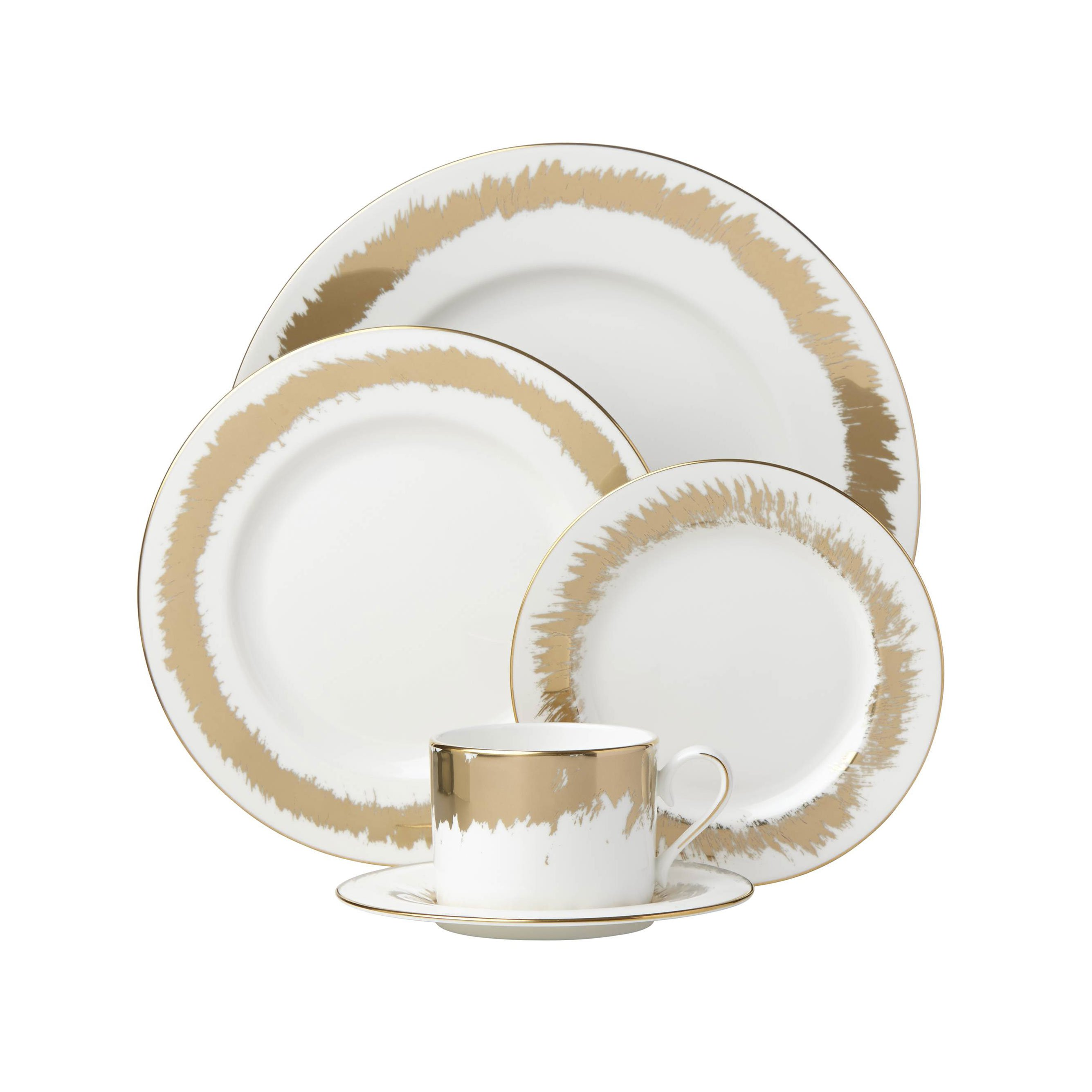 Casual Radiance Dinnerware Collection by Lenox - 5-Piece Place Setting