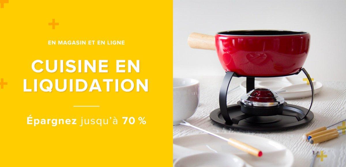 Produits in liquidation trudeau cuisine de linen chest for Accessoires cuisine trudeau