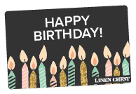 BIRTHDAY-THEMED GIFT CARDS