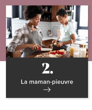 2. La maman-pieuvre
