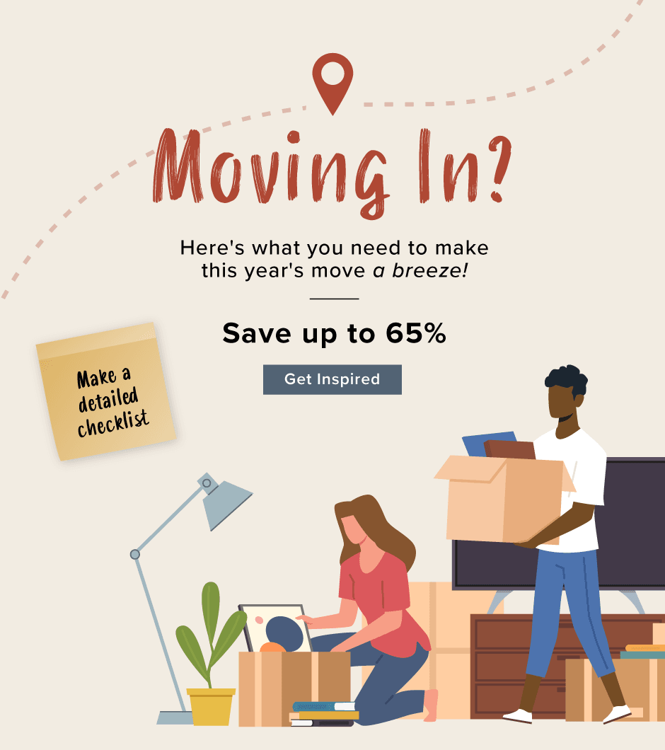MOVING IN? Here's what you need to make this year's move a breeze!