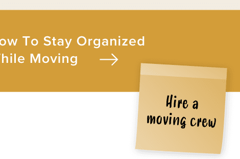 How To Stay Organized While Moving
