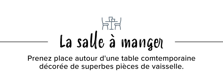 ARTICLES DE TABLE