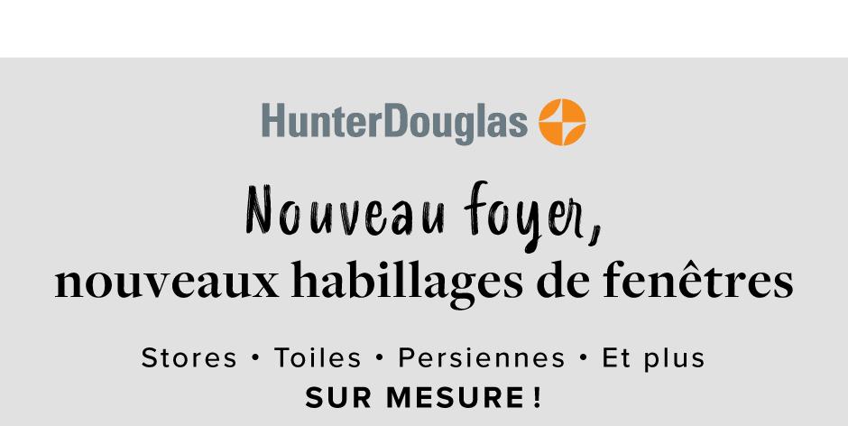 SERVICE D'HABILLAGES DE FENÊTRES SUR MESURE